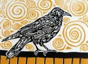 watching crow by Alexa Thornton