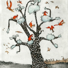 THE FLAMEBIRD TREE, 11/25